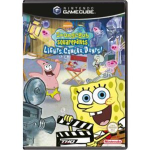 Jogo Spongebob Squarepants: Lights, Camera, Pants - GC