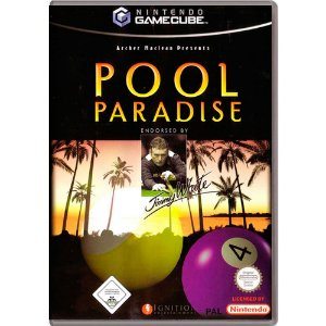 Jogo Pool Paradise - GC - GameCube