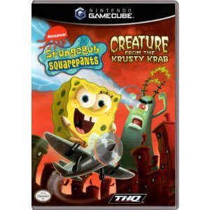 Jogo SpongeBob Squarepants: Creature From The Krusty Krab - GC