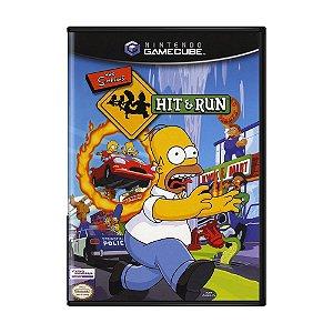 Jogo The Simpsons Hit & Run - GC - Game Cube