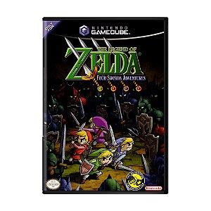 Jogo The Legend of Zelda: Four Swords Adventures - GC - GameCube