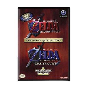Jogo The Legend of Zelda: Ocarina of Time / Master Quest - GC - GameCube