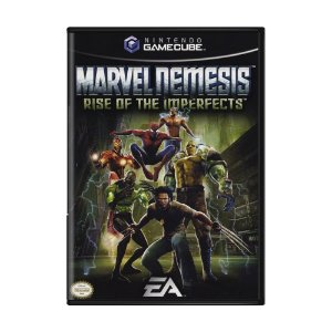 Jogo Marvel Nemesis: Rise of The Imperfects - GC - GameCube