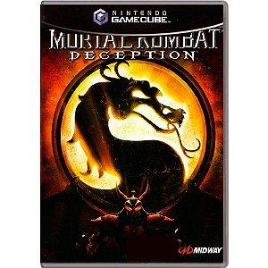 Jogo Mortal Kombat Deception - GC