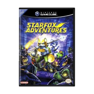 Jogo Star Fox Adventures - GameCube