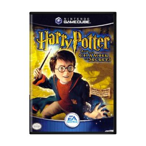 Jogo Harry Potter and The Chamber of Secrets - GC - GameCube