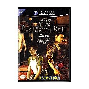 Jogo Resident Evil Zero - GameCube
