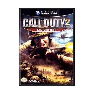 Jogo Call of Duty 2: Big Red One - GC - GameCube