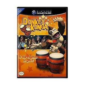 Jogo Donkey Konga - GC - GameCube