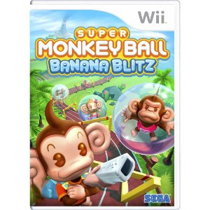 Jogo Super Monkey Ball: Banana Blitz - Wii