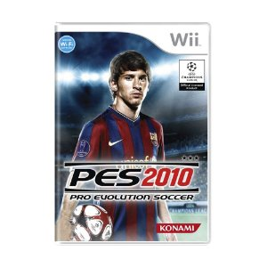 Jogo Pro Evolution Soccer 2010 (PES 10) - Wii