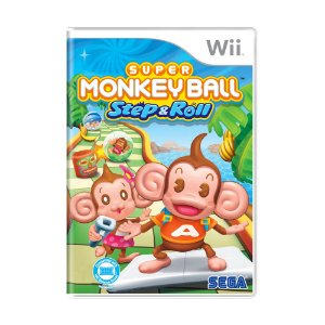 Jogo Super Monkey Ball: Step & Roll - Wii