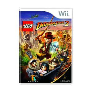 Jogo LEGO Indiana Jones 2: The Adventures Continues - Wii