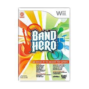 Jogo Band Hero - Wii