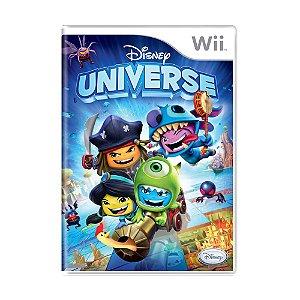 Jogo Disney Universe - Wii
