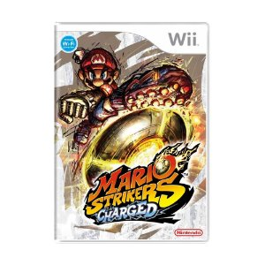 Jogo Mario Strikers Charged - Wii