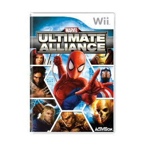 Jogo Ultimate Alliance - Wii
