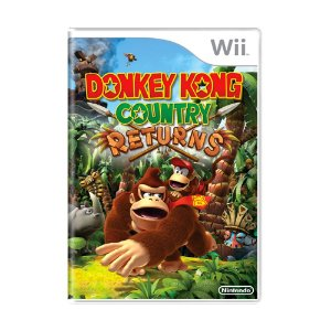 Jogo Donkey Kong: Country Returns - Wii