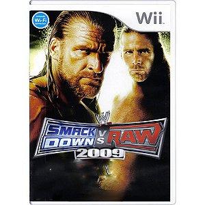 Jogo Smack Down vs Raw 2009 - Wii