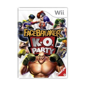 Jogo FaceBreaker K.O. Party - Wii