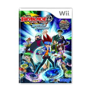 Jogo Beyblade Metal Fusion: Battle Fortress - Wii