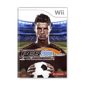 Jogo Pro Evolution Soccer 2008 - Wii