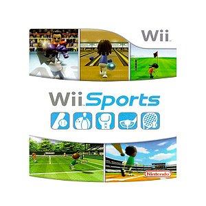 Jogo Wii Sports - Wii (Capa Dura)