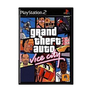 Jogo Grand Theft Auto: Vice City (GTA) - PS2