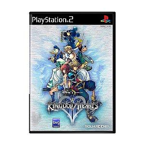Jogo Kingdom Hearts II - PS2
