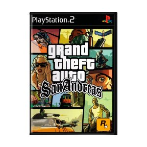 Jogo Grand Theft Auto: San Andreas (GTA) - PS2