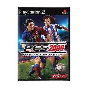 Jogo Pro Evolution Soccer 2009 (PES 09) - PS2