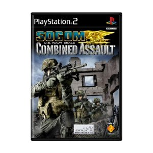 Jogo Socom: U.S. Navy Seals Combined Assault - PS2