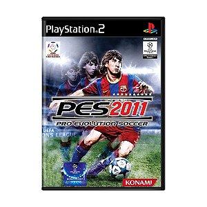 Jogo Pro Evolution Soccer 2011 (PES 11) - PS2