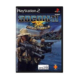 Jogo Socom 2: U.S. Navy Seals - PS2