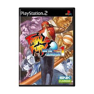 Jogo Fatal Fury: Battle Archives Vol. 1 - PS2
