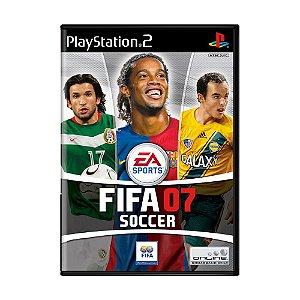 Jogo FIFA Soccer 07 - PS2