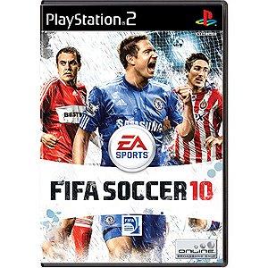 Jogo FIFA Soccer 10 - PS2