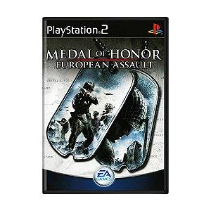Jogo Medal of Honor: European Assault - PS2