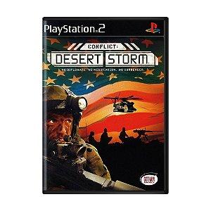 Jogo Conflict: Desert Storm - PS2