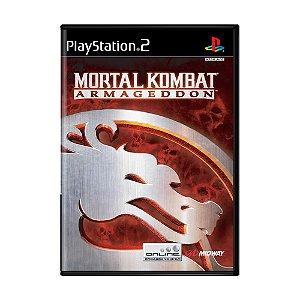 Jogo Mortal Kombat: Armageddon - PS2