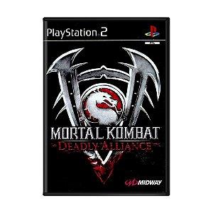 Jogo Mortal Kombat: Deadly Alliance - PS2