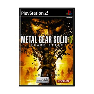 Jogo Metal Gear Solid 3: Snake Eater - PS2