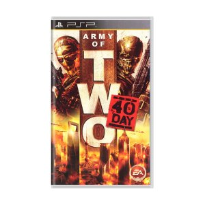 Jogo Army of Two: The 40th Day - PSP