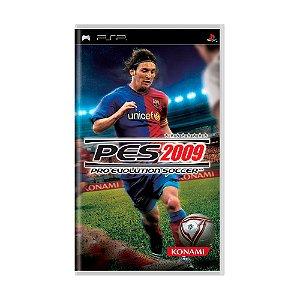 Jogo Pro Evolution Soccer 2009 (PES 09) - PSP