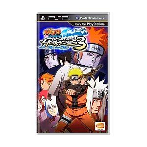 Jogo Naruto Shippuden: Ultimate Ninja Heroes 3 - PSP