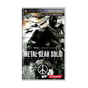 Jogo Metal Gear Solid: Peace Walker - PSP