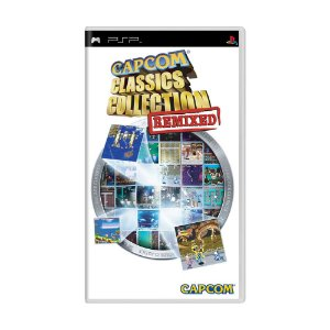 Jogo Capcom Classics Collection: Remixed - PSP