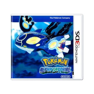 Jogo Pokémon: Alpha Sapphire - 3DS