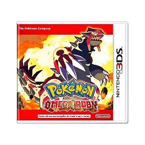 Jogo Pokémon: Omega Ruby - 3DS