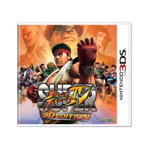 Jogo Super Street Fighter IV: 3D Edition - 3DS